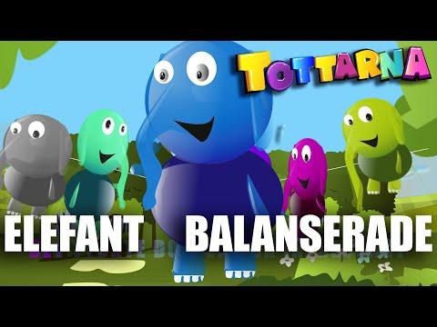 En Elefant balanserade - modern svensk barnmusik