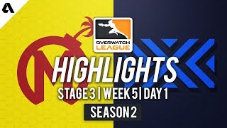 Florida Mayhem vs. New York Excelsior   Overwatch League S2 Highlights - Stage 3 Week 5 Day 1