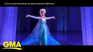 The world is anticipating the sequel to Disney's 'Frozen' | GMA
