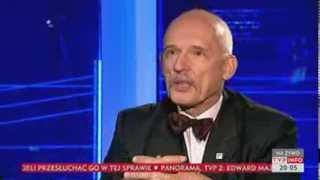 Korwin-Mikke: znie?my podatki dochodowe (Dzi? wieczorem TVP Info, 8.12.2013)