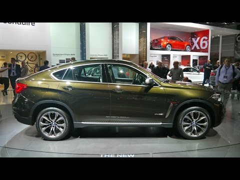 2015 BMW X6, first presentation