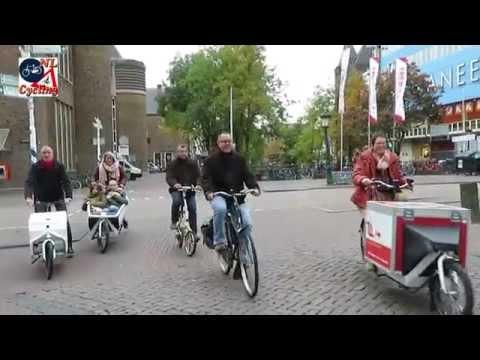 Cargo bike tour Utrecht (Netherlands)