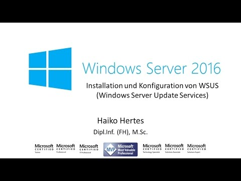Windows Server 2016: Installation Und Konfiguration Von WSUS (Windows Server Update Service)