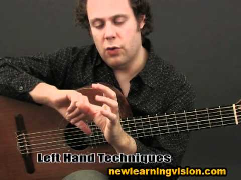 Demo of Flamenco Guitar Lesson for Beginners - Part 1 by Adam del Monte