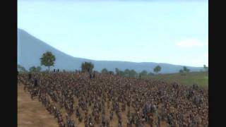 Lord Of the Ring Third age total war Intro Mordor