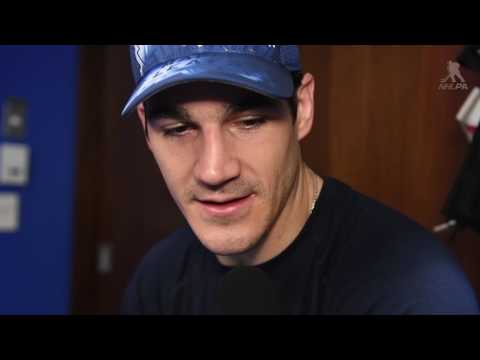 Brian Boyle - In The Locker Room
