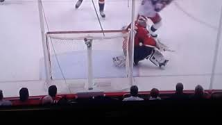 Blue jackets score a goal to tie the game again