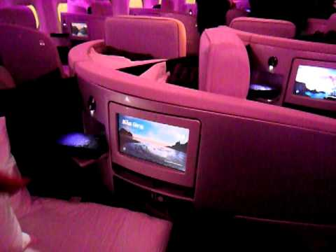 Air New Zealand 777-300ER Business Premier Seat