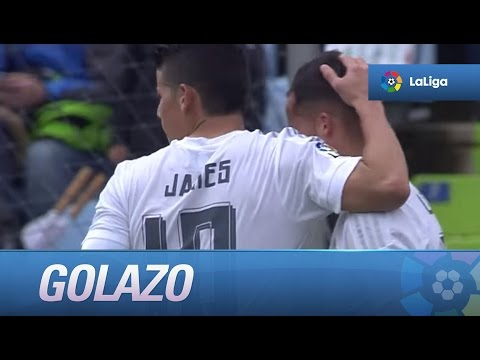 Golazo de James Rodríguez (1-4) Getafe CF - Real Madrid