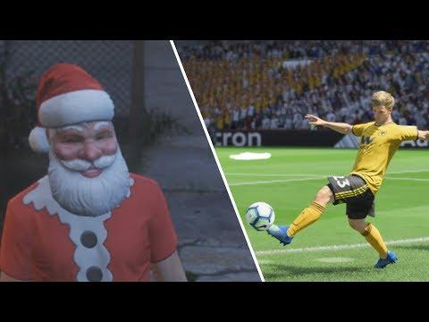 JORGE ENVIOU UM PRESENTE DE NATAL! - VIDA DE JOGADOR #14   FIFA 19