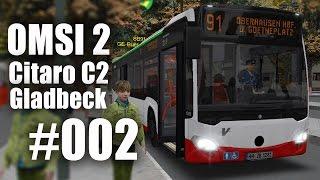 OMSI 2 mit dem Citaro C2 durch Gladbeck Linie SB91 #002