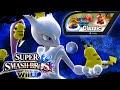 Super Smash Bros Wii U - Classic Mode w/Mewtwo & Giveaway