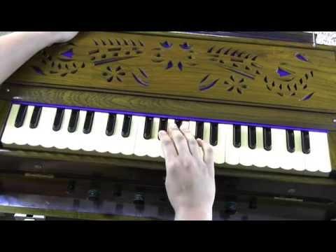 How to play - Jhilmil Sitaron Ka Aangan Hoga from Jeevan Mrityu on Harmonium/Keyboard