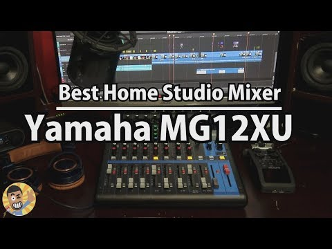 Best Home Studio Mixer / Yamaha Mixer MG12XU Unboxing, Sound Test and Review