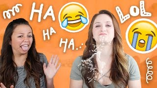 EMBARRASSING TRY NOT TO LAUGH CHALLENGE w/ Mattie Faith