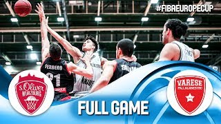 s.Oliver Würzburg v Pallacanestro Varese - Full Game - Semi-Final 2 - FIBA Europe Cup 2019