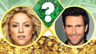 WHO'S RICHER? - Shakira or Adam Levine? - Net Worth Revealed! (2017)