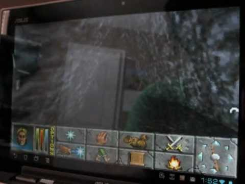 Elder Scrolls II - Daggerfall on Android (DosBox Turbo)