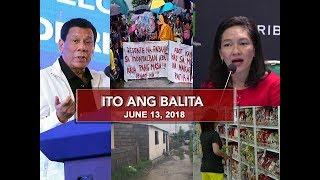 UNTV: Ito Ang Balita (June 13, 2018)