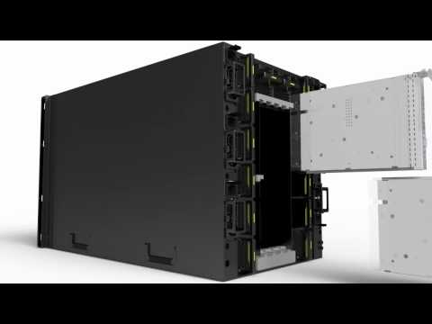 Huawei Tecal E9000 Blade Server Introduction Video