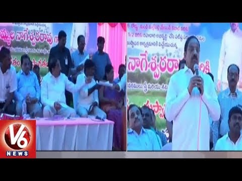 Minister Thummala Launches Several Development Works Khammam District | V6 News