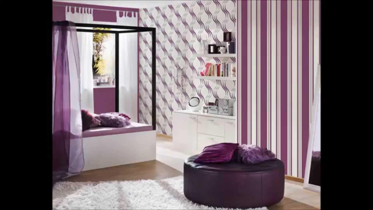 Dormitorios y papel pintado youtube for Papel pintado para dormitorios