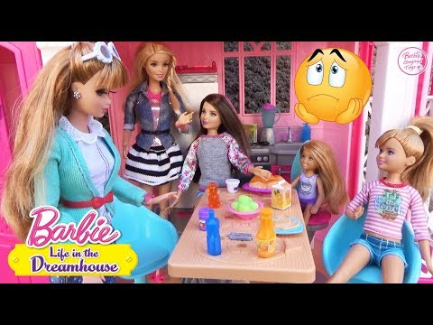 Неудачный день Мидж Мультфильмы с куклами Барби в доме мечты для девочек ♥ Barbie Original Toys