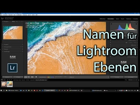 Lightroom Ebenen Technik: Sprechende Namen für Ebenen: So geht's