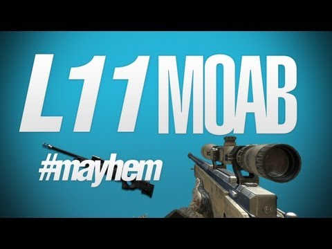 MW3: L11 Sniper MOAB - #MAYhem & Secret Stuff (1080p)
