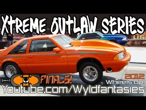 Xtreme Outlaw Series: Turbo & Nitrous v8 drag racing FINALS,