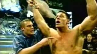 WWE Backlash 2003 - Brock Lesnar vs John Cena Promo