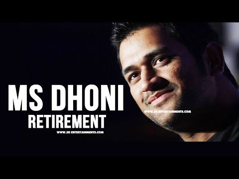 MS Dhoni Retirement from International Test Cricket : Mahendra Singh Dhoni India captain