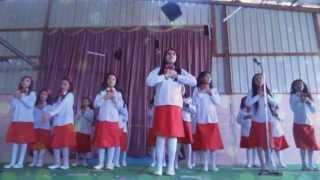 حفل ابتدائية خميس مشيط الاهلية فقرة انشودة المعلم