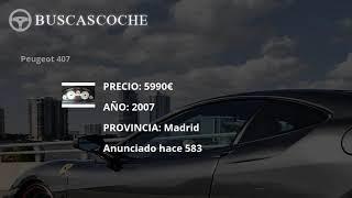 Peugeot 407 en Madrid desde 3500€, mejores ofertas