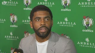 Kyrie Irving On LeBron James Leaving Cleveland Cavaliers To Join Boston Celtics!