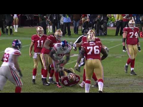 2011 NFC Championship Giants vs 49ers Highlights