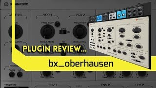 THE Most Analogue Sounding Soft Synth in 2019??? bx_oberhausen by Brainworx Review