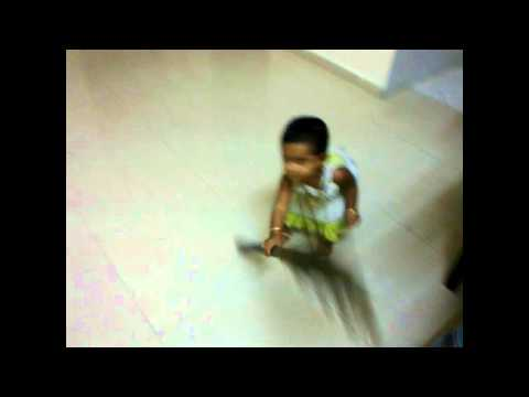 Rakshitha Brooming.wmv video