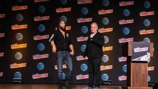 Jon Bernthal talks about Marvel's Punisher during NYCC 2016