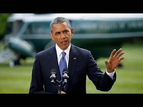 Obama: US reviewing its options to help Iraq fight insurgency