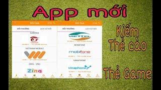 App mới chơi game kiếm thẻ cào thẻ games cực dễ dàng - Kiếm Tiền Online - Kiếm Tiền NVH