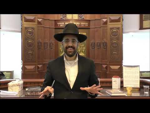 """הרב מאיר אליהו שליט""""א -תחפושות בפורים - משכן יהודה, פקודי תשע""""ט"""