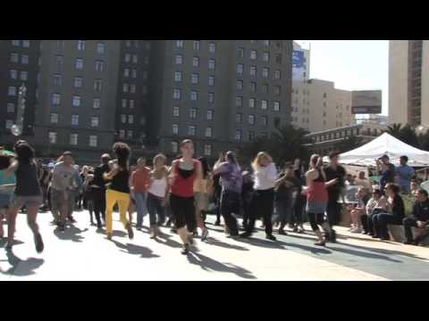 """Pinball Wizard"" Flash Mob in San Francisco"