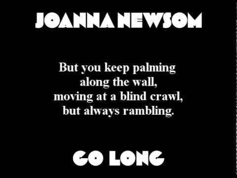 Joanna Newsom - Go Long (with lyrics)