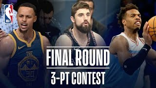 3-PT Contest Final Round | Joe Harris, Buddy Hield, Steph Curry Face Off! | 2019 NBA All-Star