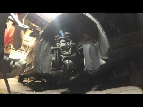 How to change Front Brake Pads on a 2007 Mazda 3