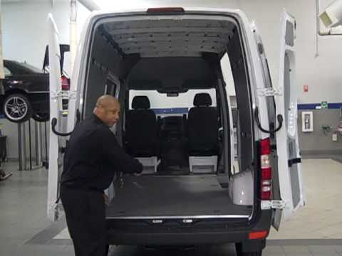 New 2011 Mercedes-Benz Sprinter Diesel Cargo Van with Josh Richardson