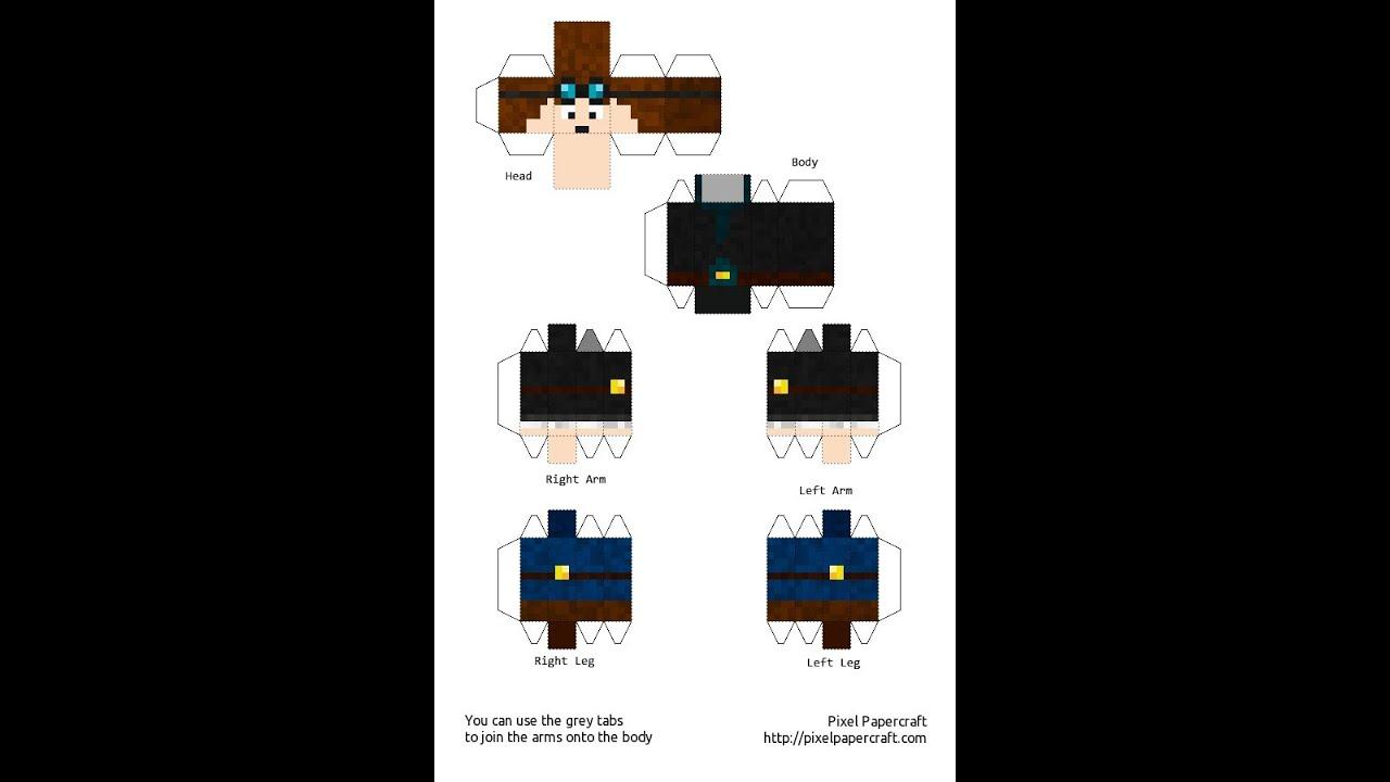 Papercraft Ep 3 Thediamondminecart Youtube