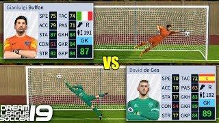 De Gea vs Buffon | Penalty Shootout | Dream League Soccer 19