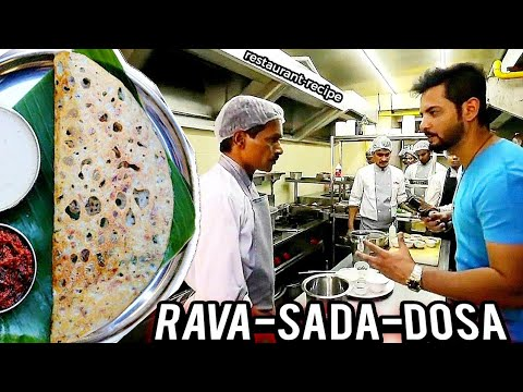 How to make Rava Dosa   Crispy Sooji Dosa   Ab Khulega Rahasya 2019